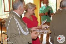 Agnieszka Smorga wręczanie odznaczeń wojskowych