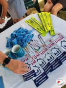 artykuły promocyjne: kubki, ulotki, długopisy, opaski odblaskowe, balony