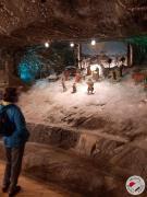 Ekspozycja prezentujaca pracę górników