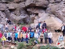 Cała grupa Koła Turystycznego